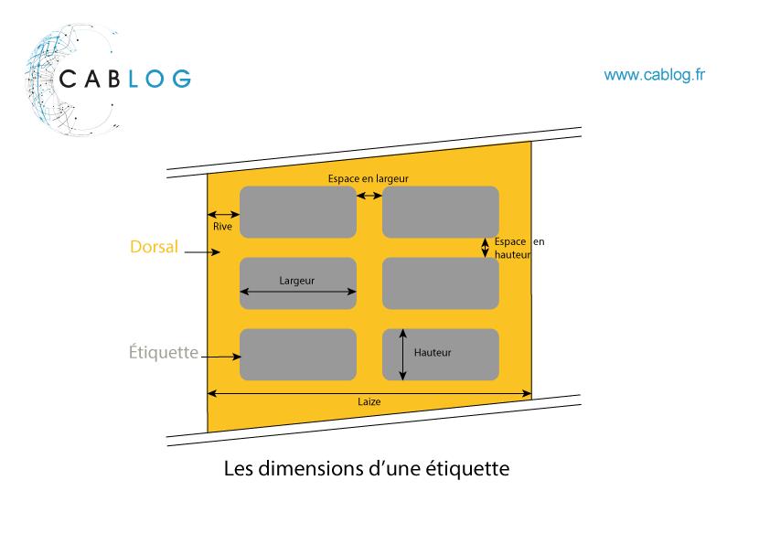 Dimensions etiquettes industrielles cablog fr