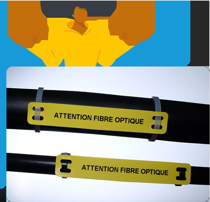 Repere cable 1